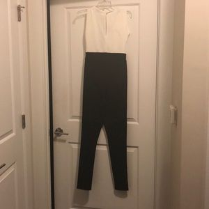 Black and white jumpsuit (Size 6)